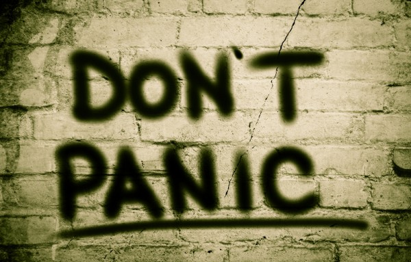 Don't Panic Concept shutterstock_315808892