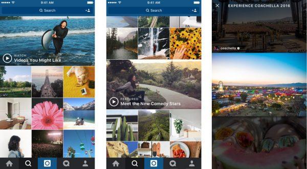 Neue Videos auf Instagram entdecken (Quelle: Instagram)