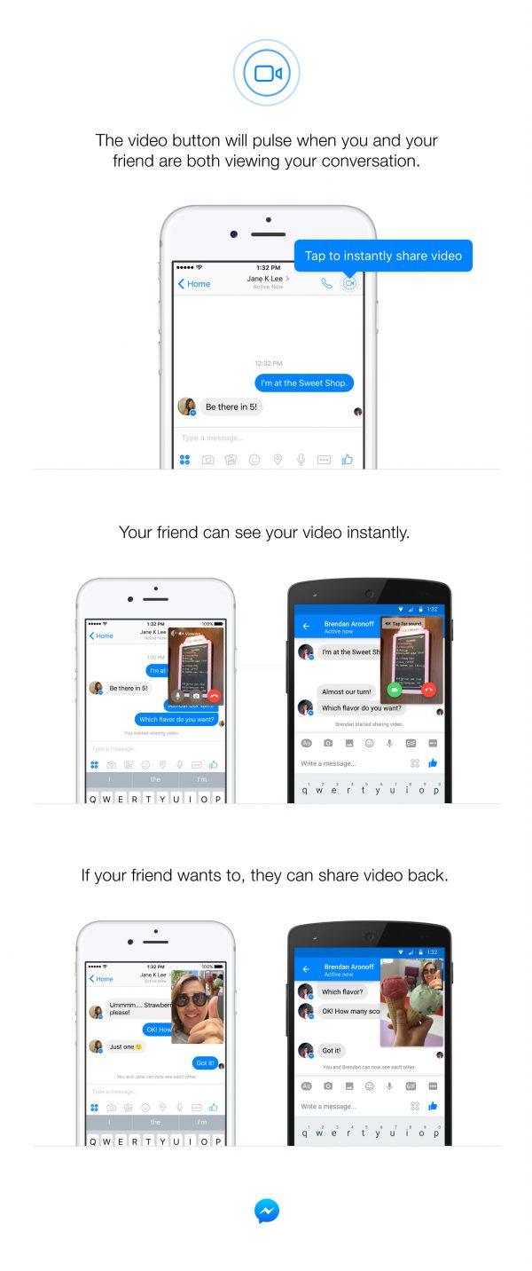 Instant Video (Quelle: Facebook)