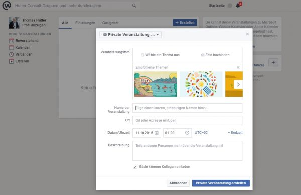Workplace by Facebook Events