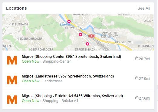 """Darstellung von """"Locations"""" in der mittleren Spalte"""""""
