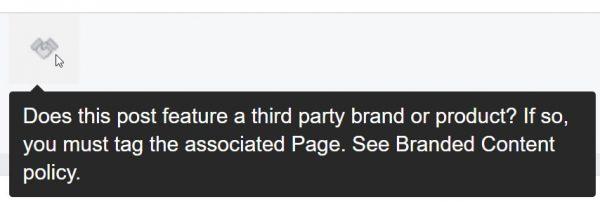 """Das """"Handshake""""-Symbol als Kennzeichnung für Branded Content"""