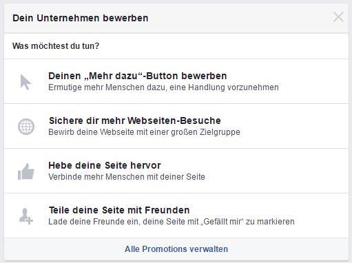 Facebook Publisher - Dein Unternehmen bewerben
