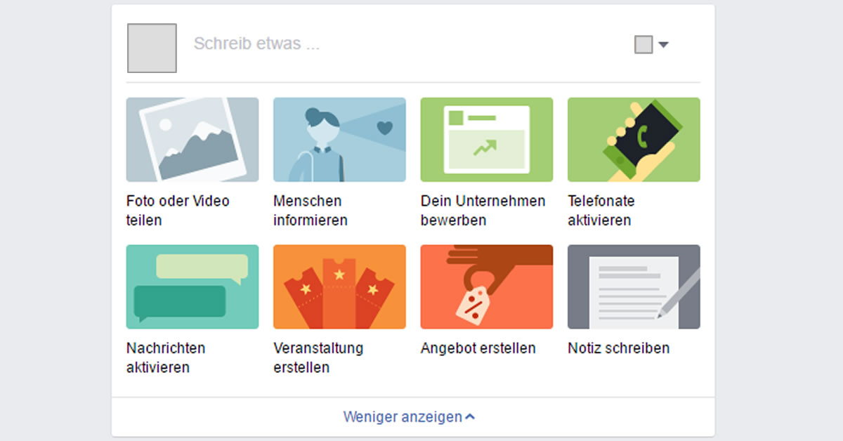 Facebook Neuer Publisher Für Facebook Seiten