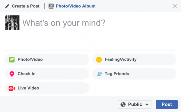 Facebook Live am Desktop/Notebook (Quelle: Facebook)