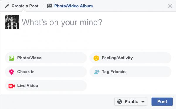 Facebook Live am Desktop/Notebook (Quelle: Facebook)