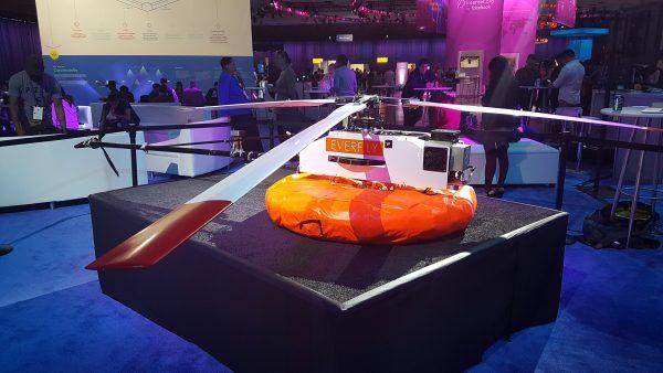 F8 - Tether-tenna - ein kleiner Helikopter der Internet aus der Luft zur Verfügung stellt