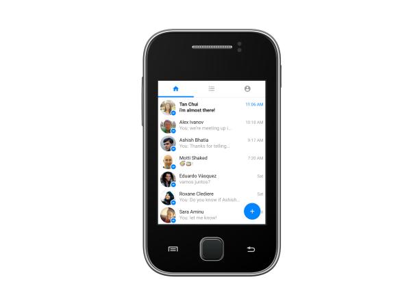 Messenger Lite - die schlanke Messenger App von Facebook (Quelle: Facebook)