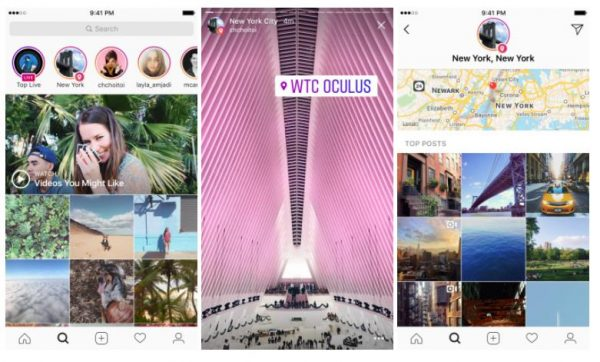 Instagram Location Stories (Quelle: Instagram)