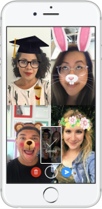 Messenger Video Chat Take Picture (Quelle: Facebook)