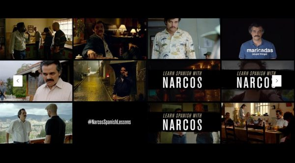 Narcos - Spanish Lessons