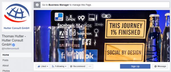 Das Profilbild der Facebook Seite ist nicht von der Umstellung betroffen