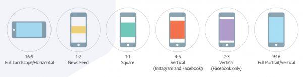Facebook / Instagram Video Ratios