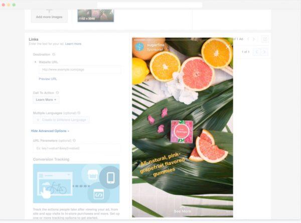 Instagram Stories Upload Tool im Power Editor und Werbeanzeigenmanager
