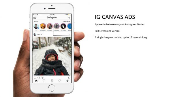 Canvas Ad Instagram (Quelle: Facebook)