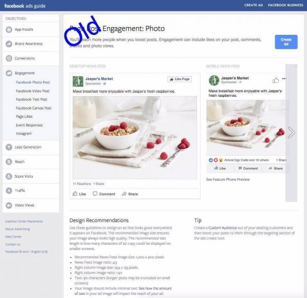 FB Ads Guide old (Quelle: Facebook)