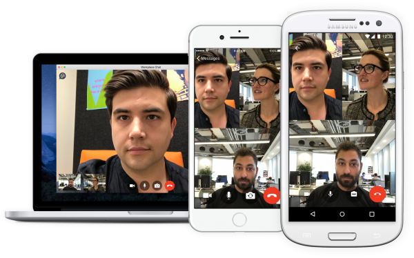 Group Video Chat - Family (Quelle: Facebook)