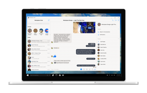 Workplace Chat for Windows (Quelle: Facebook)