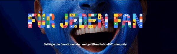 Facebook - Die Weltgrösste Fussball-Community (Quelle: Facebook)