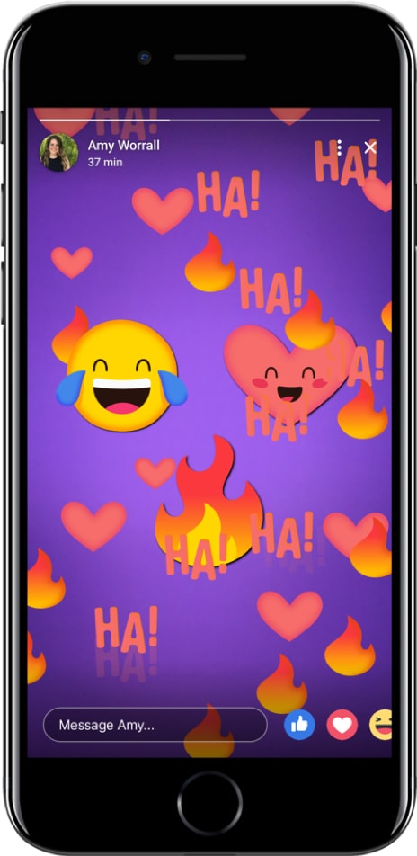 FB Stories Interactive Stickers (Quelle: Facebook)