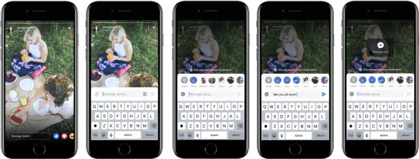 FB Stories Replies (Quelle: Facebook)