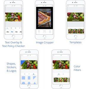 Creative Tools für Ads Manager App (Quelle: Facebook)