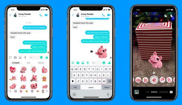 Messenger AR Stickers (Quelle: Facebook)