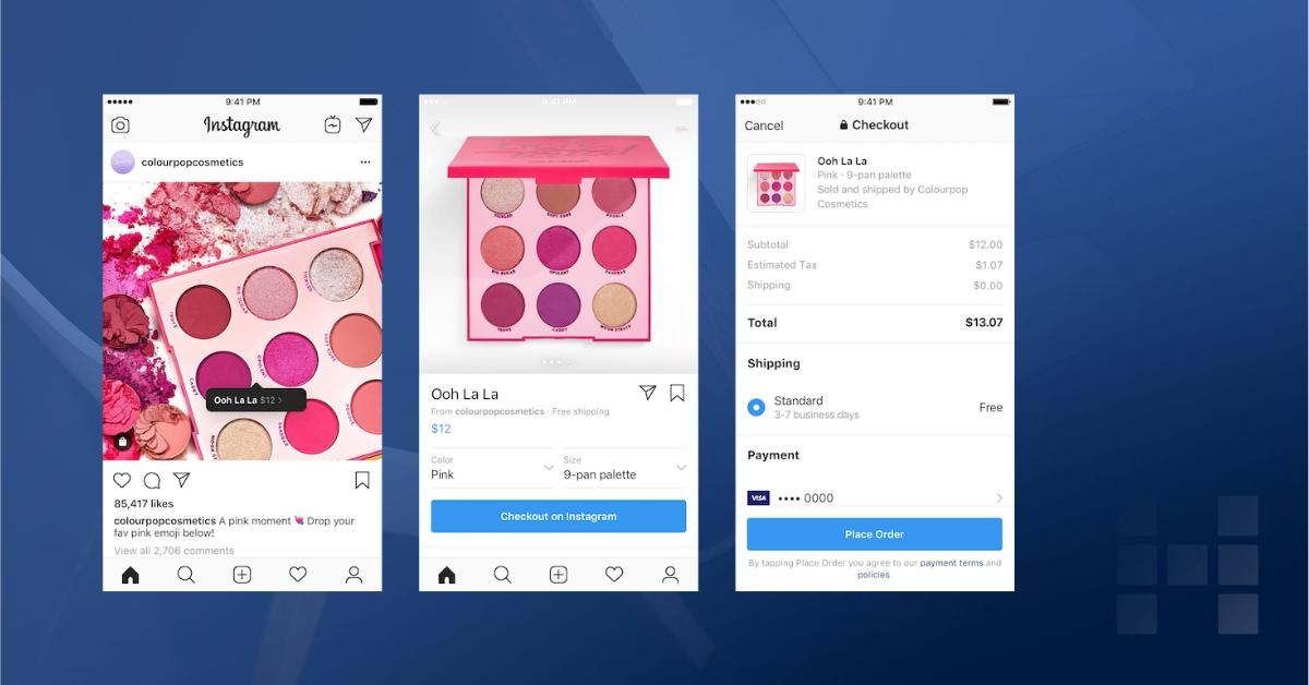 Instagram: Checkout direkt von der App