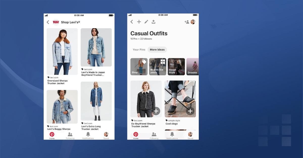 Pinterest: Launch von Catalog Ads und mehr Shopping Funktionen