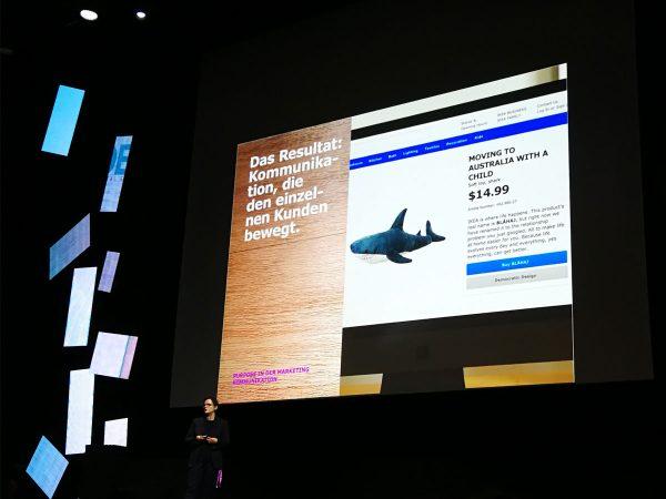 Präsentationsfolie von Claudia Willvonseder - «Purpose in practice: Braucht die Welt einen digitalen Imbusschlüssel?»