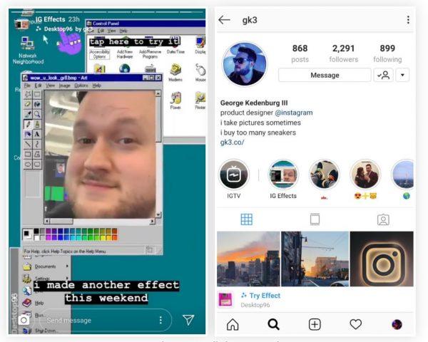 Instagram gk3 AR-Filters (Quelle: smartphones.gadgethacks.com)