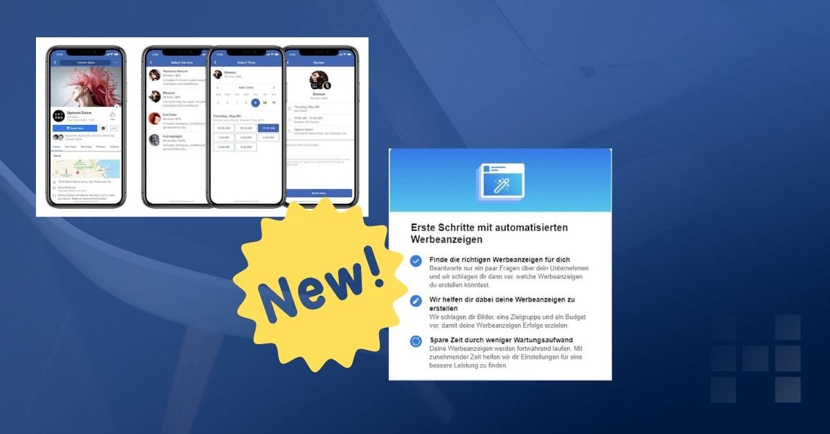 Facebook: 3 neue Tools für KMU, die den Alltag erleichtern können