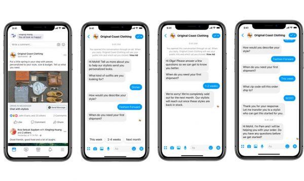 Die Customer Journey über automatische Chats