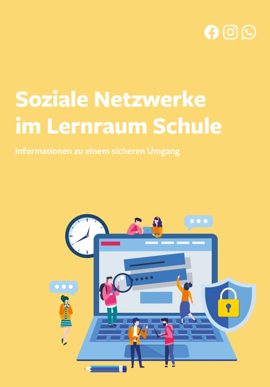 "Leitfaden ""Soziale Netzwerke im Lernraum Schule"""