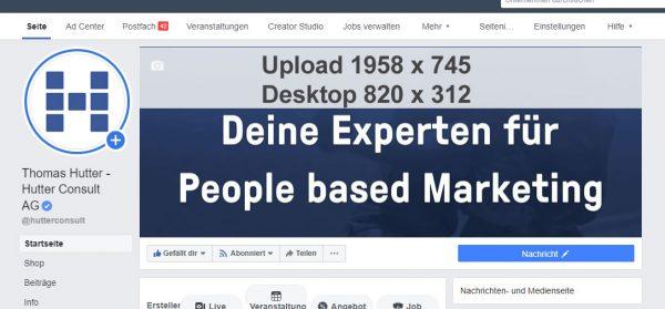 Facebook Seite Titelbild 1958 x 745 Pixel