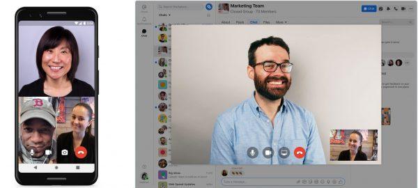 Workplace Chat auf Desktop und Mobile