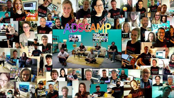 Ads Camp 2020: Teilnehmer-Selfies