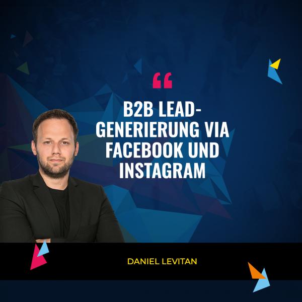 Daniel Levitan (Quelle: Ads Camp 2020)