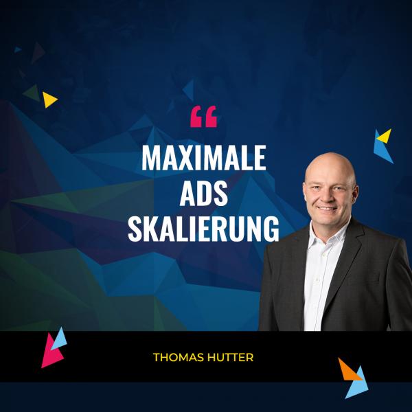 Thomas Hutter und Thomas Besmer (Quelle: Ads Camp 2020)