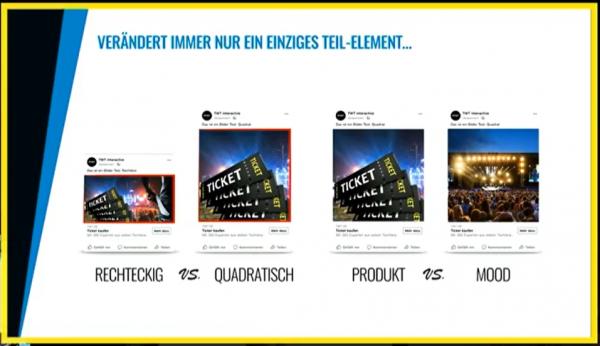 Einzelne Elemente testen (Tobias Tellers, Ads Camp 2020)