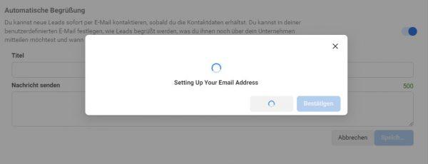 Automatische Begrüssung im Facebook Leads Center einstellen