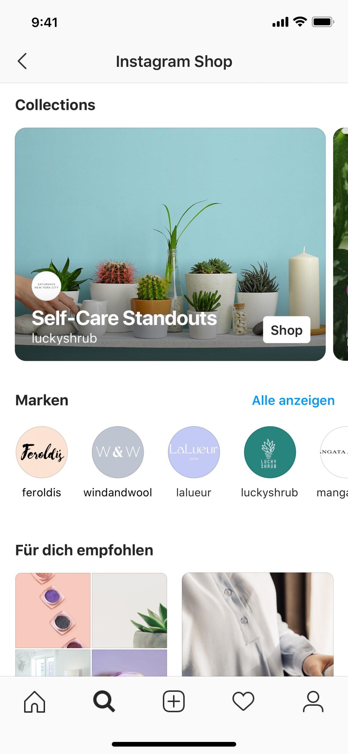 Instagram: Mehr Shopping-Inspiration auf Instagram
