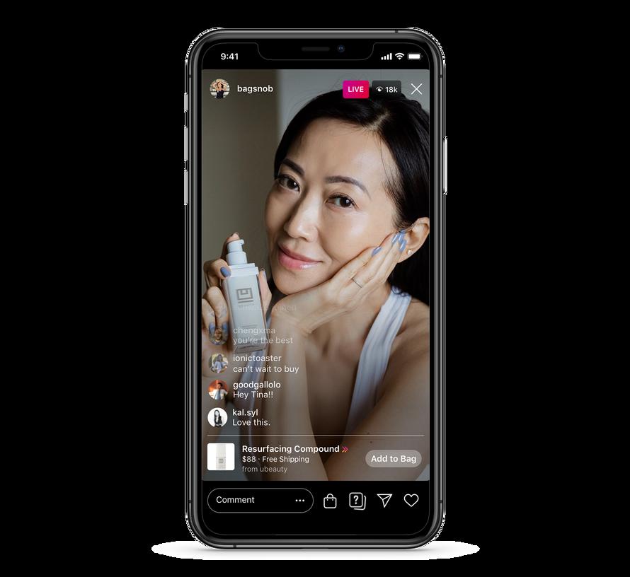 Facebook: Neue Shopping-Funktionen für Facebook und Instagram