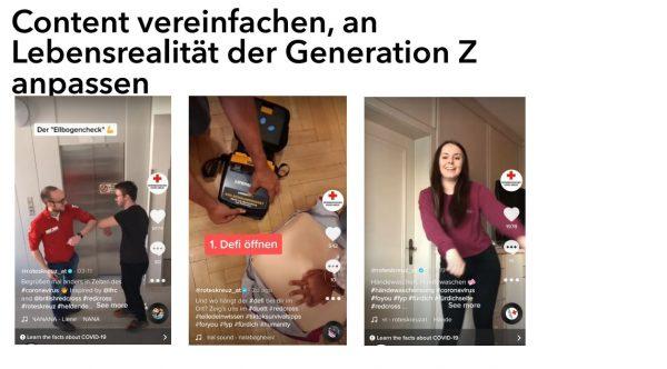 Vereinfachung des Contents (Quelle: AFBMC München, Annemarie Andre und Julia Hold)