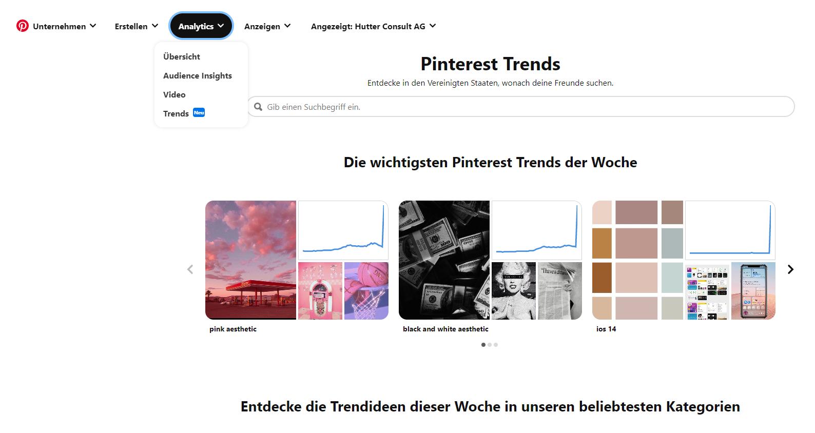 Pinterest Trends