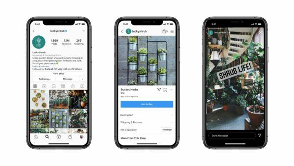 Messenger-API zur Unterstützung von Instagram-Messaging