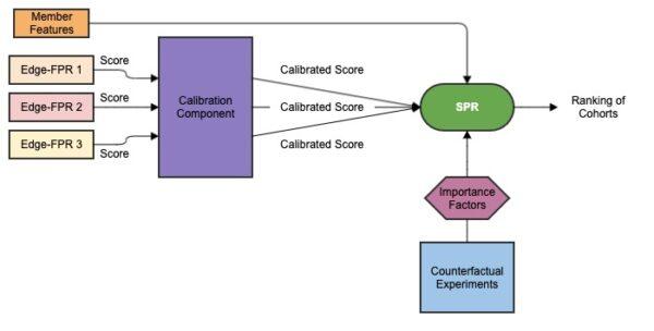 Schematischer Aufbau von SPR