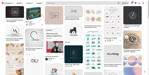 Pinterest Searchfeed