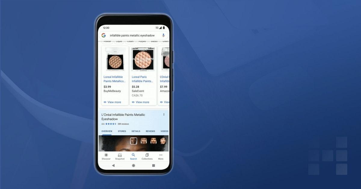 Google: Shopping Erlebnisse mit neuem Try-On Tool